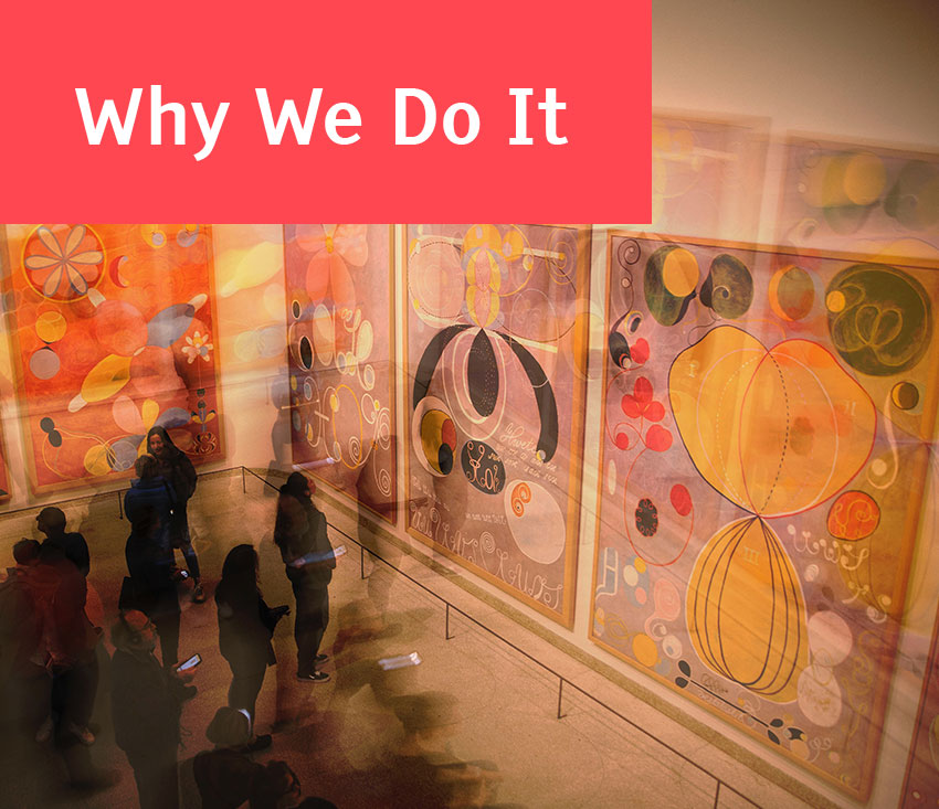 Why We Do It - Click here for more info about our mission
