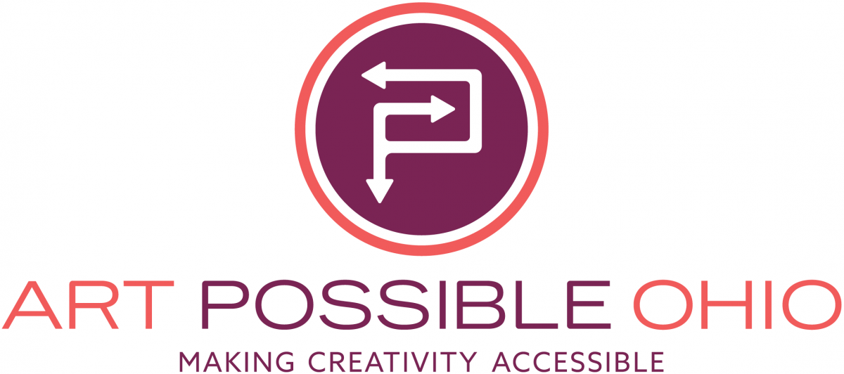 Logo: Art Possible Ohio - Making Creativity Accessible