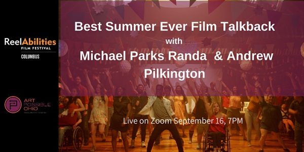 Event advertising image with text Best Summer Ever Film Talkback with Michael Parks Randa & Andrew Pilkington